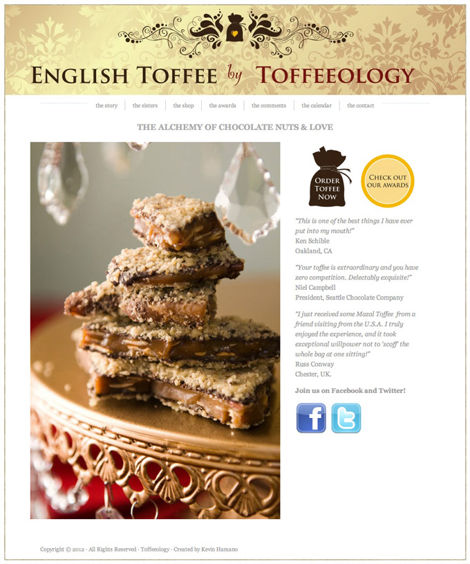 Toffeeology 1